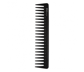 Carbon fiber comb with large tooth
