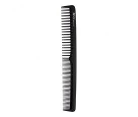 Pettine in fibra di carbonio rado/fitto - alto